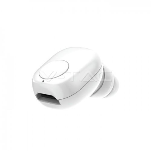 Earbuds Bluetooth 55mAh White