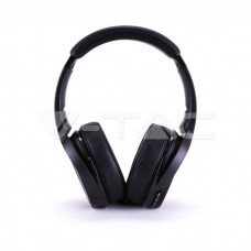 Bluetooth Wireless Headphone Rotable Head 500mAh Black