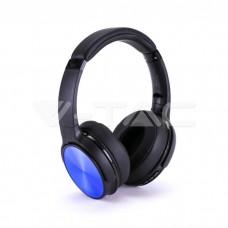 Bluetooth Wireless Headphone Rotable Head 500mAh Blue