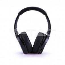 Bluetooth Wireless Headphone Rotable Head 500mAh Red
