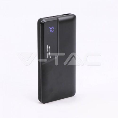 10K Mah Power Bank With Digital Display & USB Type C Black